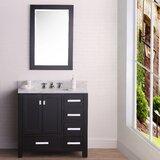 Clifford 36 Single Bathroom Vanity Set with Mirror by Ebern Designs