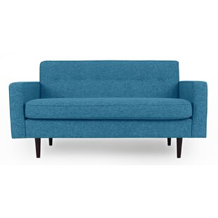 Mickey Mid-Century Loveseat by Corrigan Studio