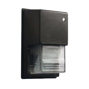 Warwick 18-Watt LED Dusk to Dawn Outdoor Security Wall Pack by Lumight