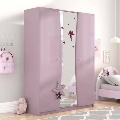 Kleiderschrank Geter | Schlafzimmer > Kleiderschränke > Drehtürenschränke | Filz | Roomie Kidz