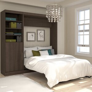 Truett Full/Double Murphy Bed by Brayden Studio