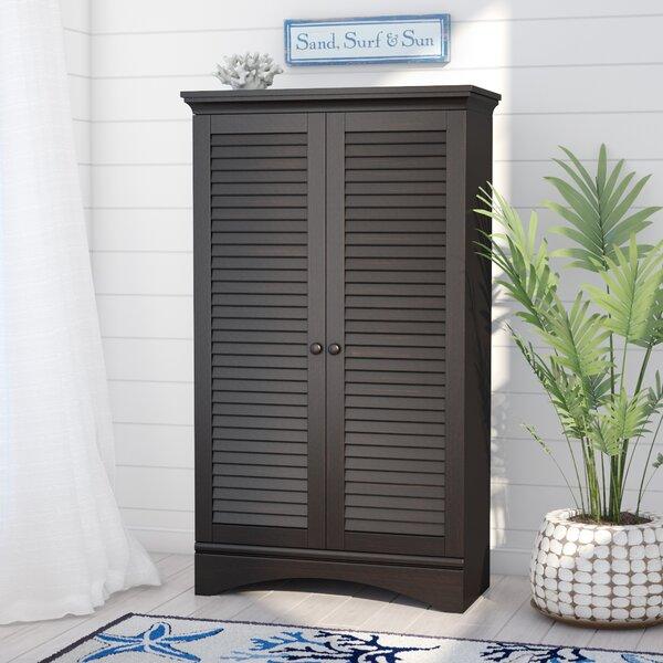 Ordinaire Tall Wood Cabinet With Doors | Wayfair