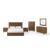 Antonelli Queen Platform 6 Piece Bedroom Set by Corrigan Studio