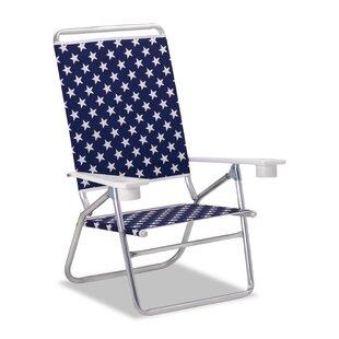 Light 'n Easy High Boy Folding Beach Chair by Telescope Casual