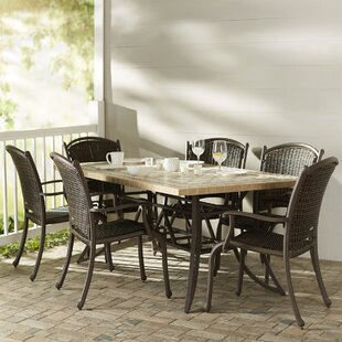 Darby Home Co Christmas 7 Piece Dining Set