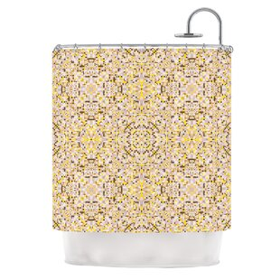 Hint by Allison Soupcoff Single Shower Curtain