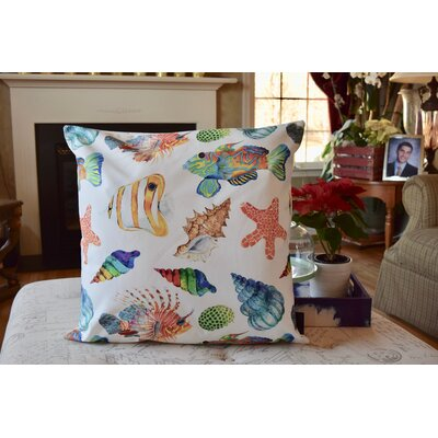 Shepard Under The Sea Indoor/Outdoor Throw Pillow (Set Of 2) by Bay Isle Home Savings