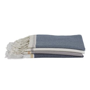 Mediterranean 1 Piece 100% Cotton Hand Towel