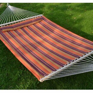 Highland Dunes Baum Double Tree Hammock