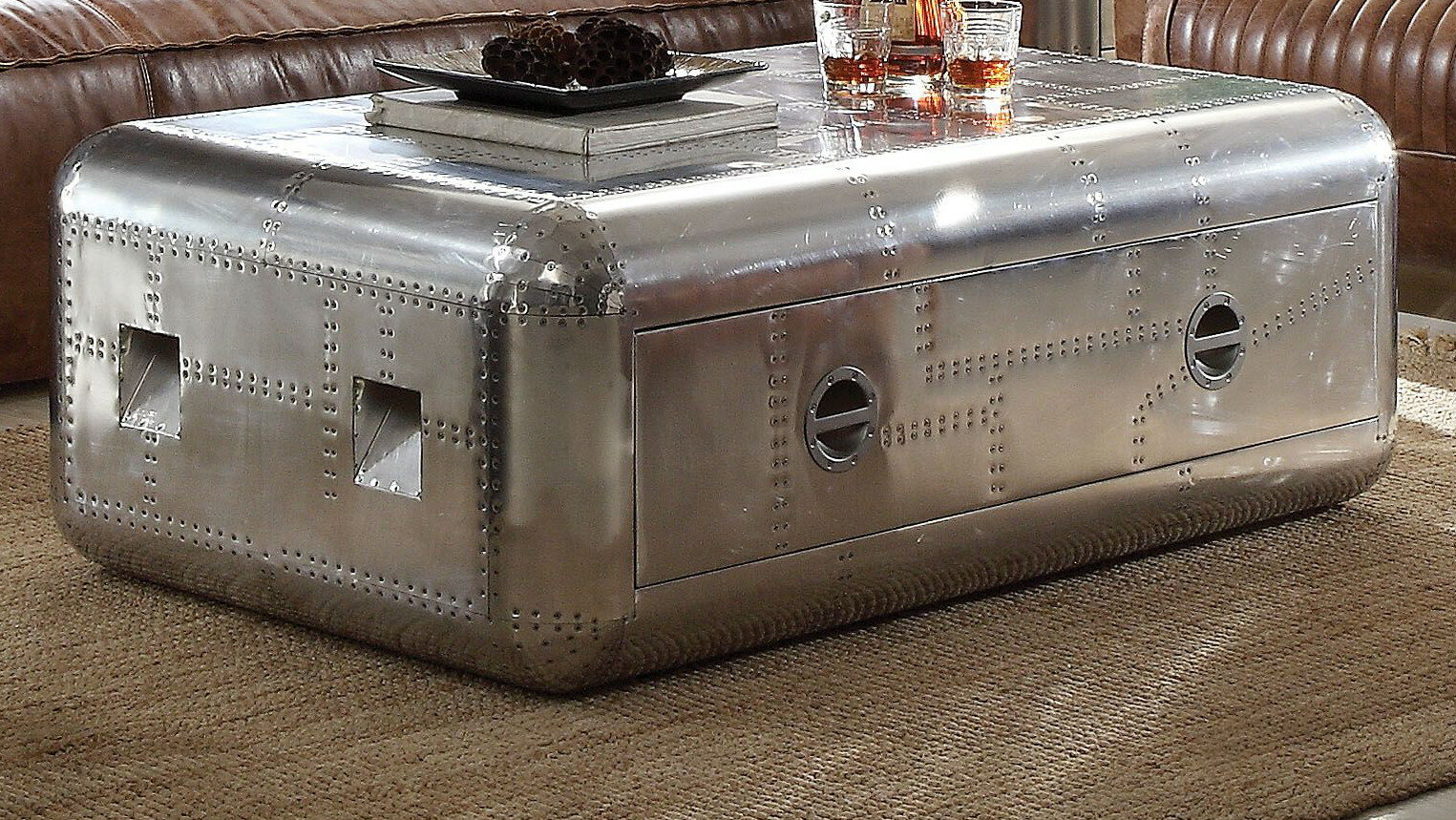 Regina Trunk Coffee Table By 17 Stories
