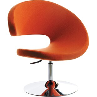 Wade Logan Belafonte Swivel Barrel Chair