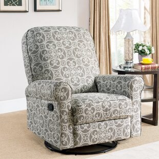 Darby Home Co Mathers Swivel Reclining Glider