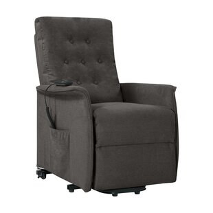 Brookston Power Lift Assist Recliner by Canora Grey