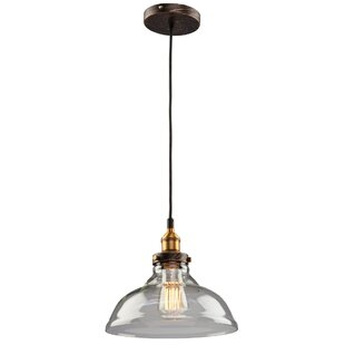 17 Stories Farheen 1-Light Bell Pendant