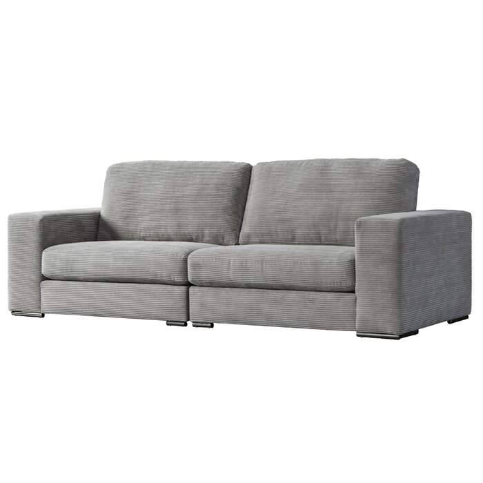 Magnificent Acanva Classic Modern Corduroy Large Sofa Gmtry Best Dining Table And Chair Ideas Images Gmtryco