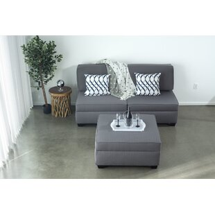 Anke Reversible Modular Sectional with Ottoman