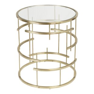 Compare & Buy Esme Brushed End Table by Design Tree Home