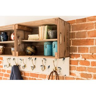 Bethesda Double Apple Box Accent Shelf By August Grove