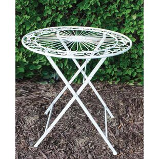 Aiyana Folding Metal Bistro Table