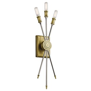Best Reviews Champney 3-Light Wall Sconce By Willa Arlo Interiors