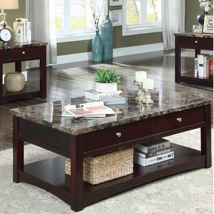 Recker Coffee Table with Storage