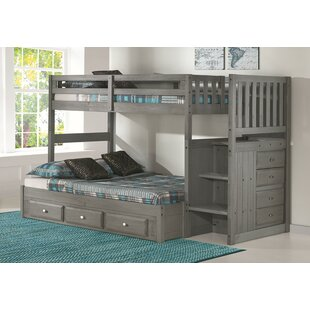 Sandler Bunk Bed with Drawers by Harriet Bee