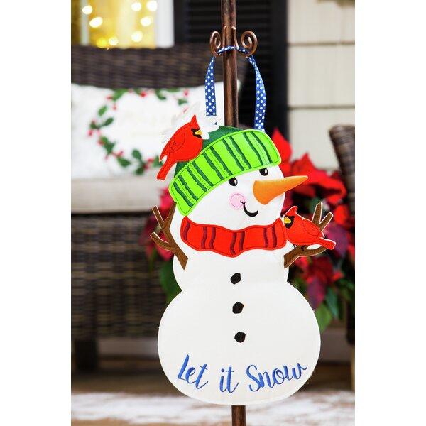 Holiday Felt Door Decorations Wayfair