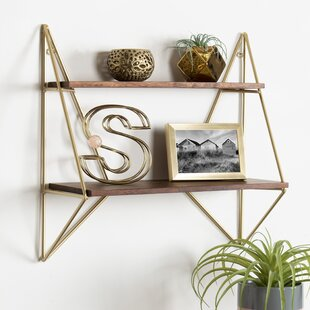 Foote Decorative Mid-Century Modern Wall Shelf