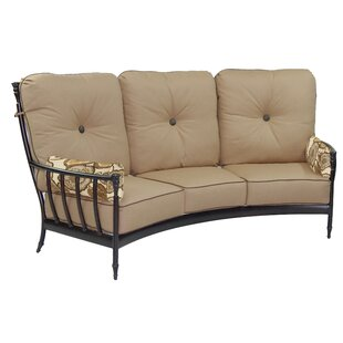Provence Crescent Patio Sofa with Cushions by Leona
