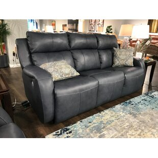 Grand Slam Leather Reclining Sofa