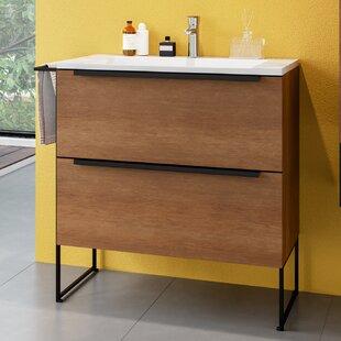 Corington 800mm Free-standing Single Vanity Unit By Belfry Bathroom