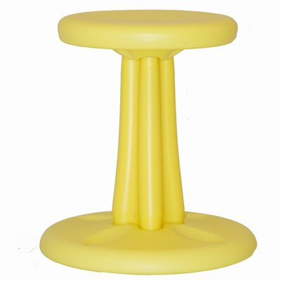 Prime Kore Design Wobble Kids Stool Color Yellow Size 14 H X 14 W Unemploymentrelief Wooden Chair Designs For Living Room Unemploymentrelieforg