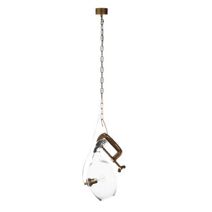 Stilnovo Clamp 1-Light Novelty Pendant