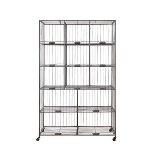 Urban Homestead Folding 76 25 H 13 Shelf Shelving Unit