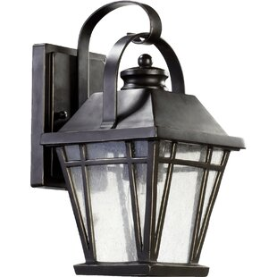 Earby 1-Light Outdoor Wall Lantern by Charlton Home