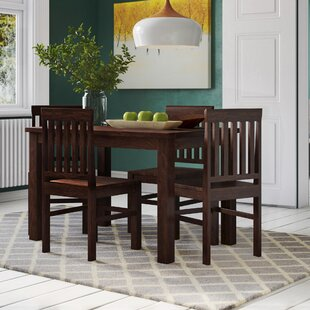 Best Price Dillsburg Dining Set With 4 Chairs