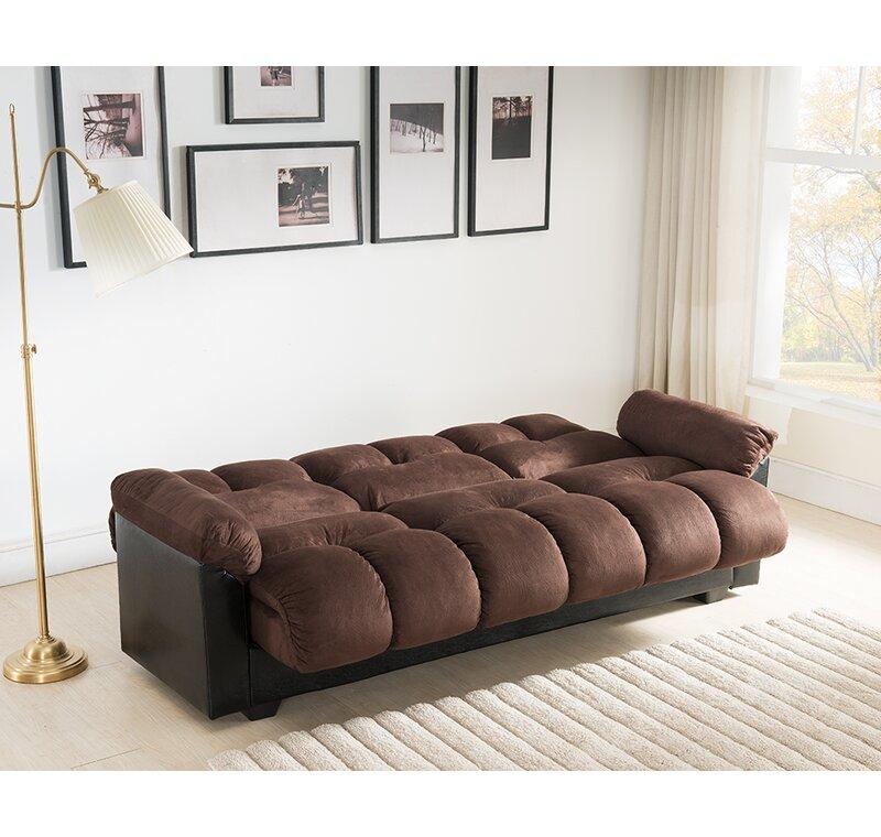 Latitude Run Capri Storage Convertible Sofa & Reviews | Wayfair