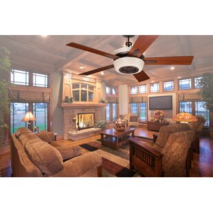 Vintage Ceiling Fan With Light | Wayfair