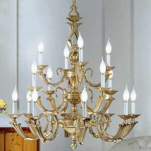 Classic Lighting Alexandria III 16-Light Chandelier