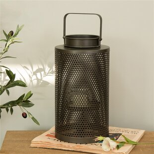 Affordable Cutout Metal Lantern By Williston Forge
