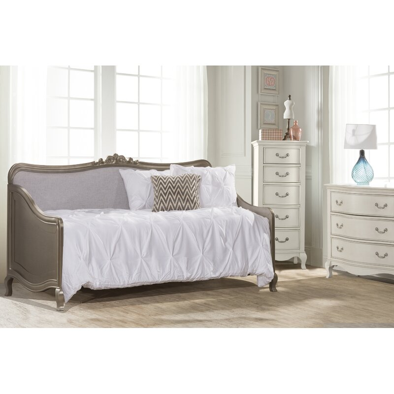 Troutdale Daybed Size: Daybed, Color: Antique Silver