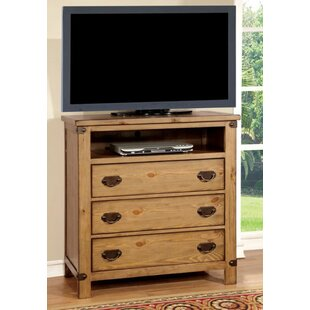 Loon Peak Street 3 Drawer Media Chest