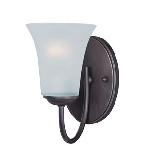 Garfield 1-Light Bath Sconce by Charlton Home