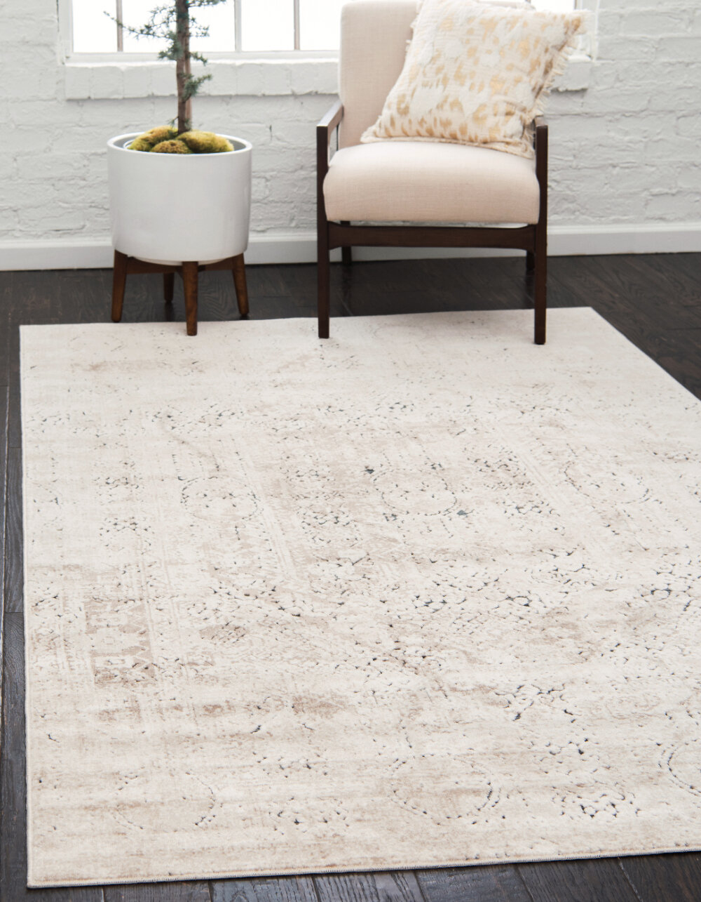 Chenille Ivory Cream Area Rugs You Ll Love In 2021 Wayfair
