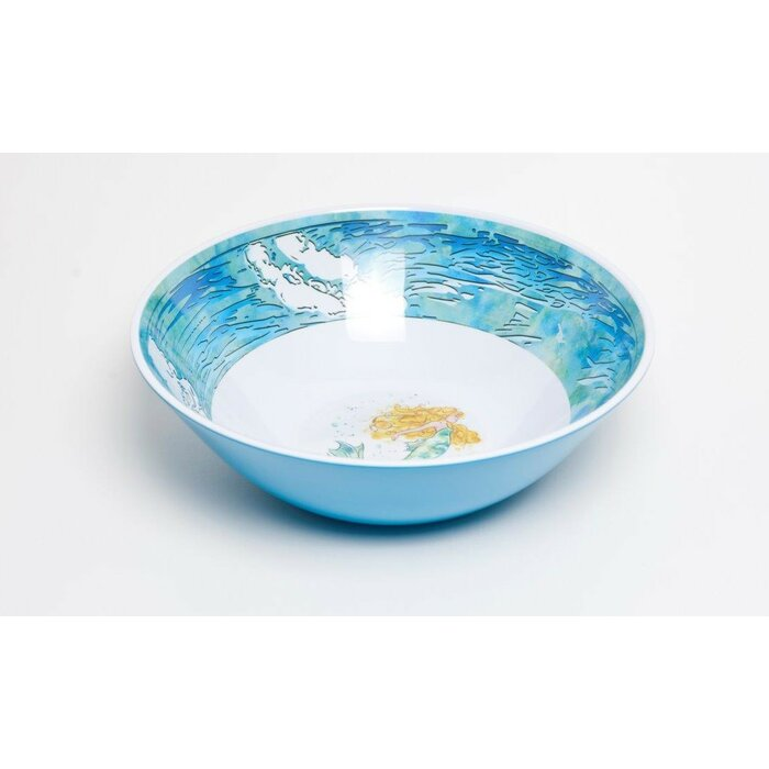 Galleyware Company Yacht and Home Mermaid Melamine Serving Bowl ...