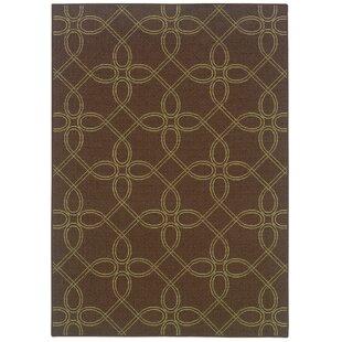 Ceasar Brown/Green Indoor/Outdoor Area Rug
