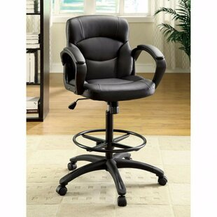 Rodriguez Mesh Drafting Chair by Latitude Run Wonderful