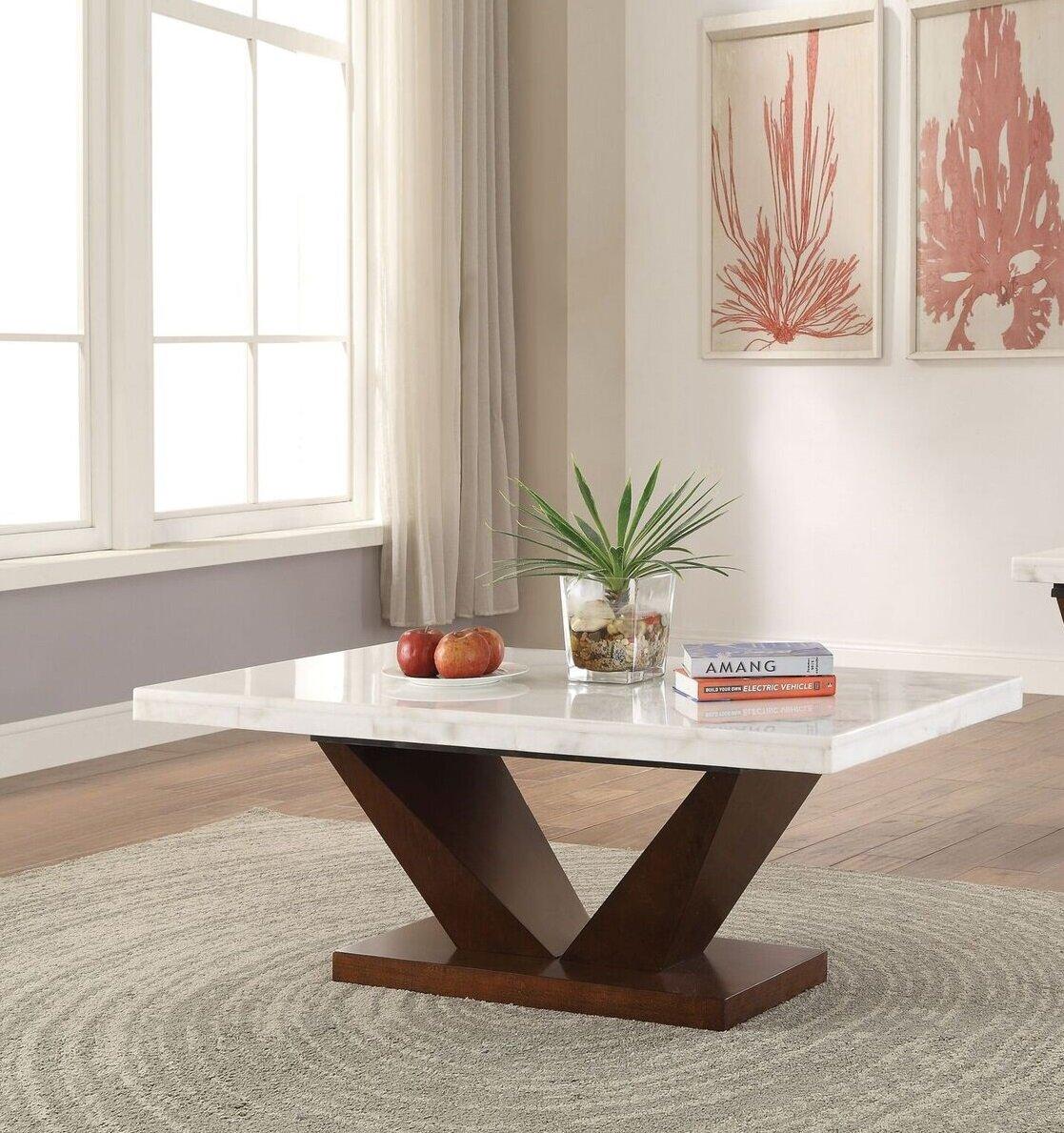 Brayden Studio Todd Creek Coffee Table Reviews Wayfair