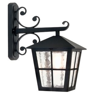 Poppe Down Outdoor Wall Lantern