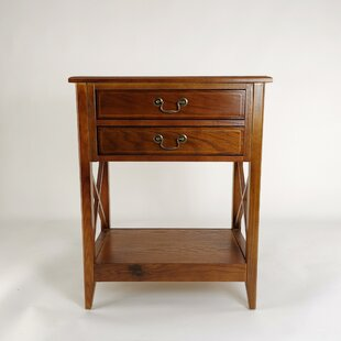 Darby Home Co Clement 2 Drawer Nightstand